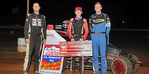 Cannon McIntosh Fires Off First POWRi West Win of the Year in OKC
