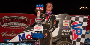 Seavey Secures USAC Title with Last Lap Bakersfield Heroics