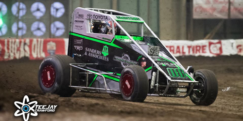 McIntosh Races to Top Five Finish in Chili Bowl Debut – Youngest Top Five Finisher in Event History!