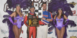 Larson Rules Chili Bowl Tuesday