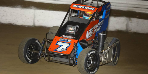 Courtney Begins USAC Midget Title Chase after Corralling Chili Bowl Hard Charger Honors