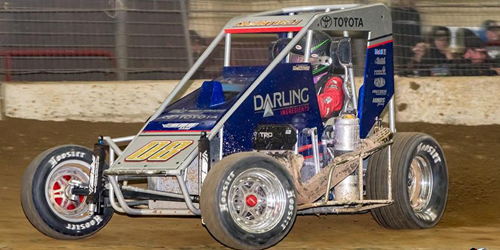 Cannon McIntosh Fires Off POWRi Midget Title Pursuit with Turnpike Challenge this Week!