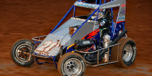 Bacon Posts Pair of POWRi Midget Top Tens During Turnpike Challenge