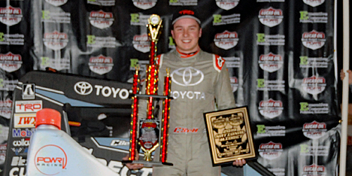 Christopher Bell Keeps the Streak Alive in Turnpike Challenge Opener