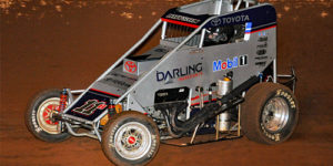 Bryson Races into First POWRi Midget Features & Picks Up a Micro Win