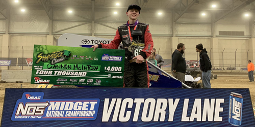 Cannon McIntosh Stuns with USAC Shamrock Classic Triumph!