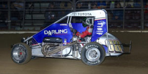McIntosh Gets First USAC Score at the Shamrock