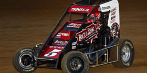 KT on the Last Lap at Kokomo Grand Prix