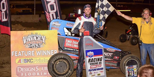 McCarthy Lands First POWRi Victory