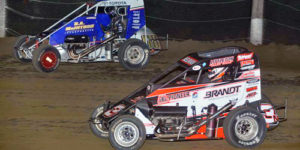 Neuman Awarded POWRi Win after McIntosh Crosses Scales Light
