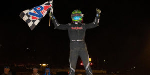 Gio Garners First USAC Midget Win in Hangtown Opener
