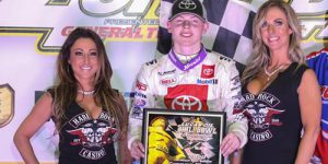 Cannon McIntosh Takes Center Stage in Chili Bowl Opener!