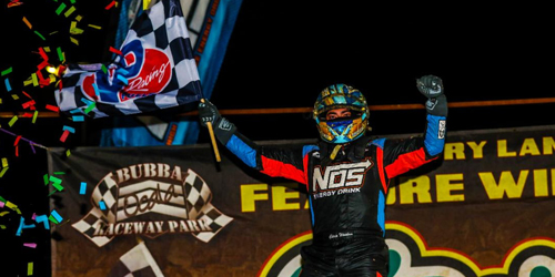 Big Daddy Windom Tames USAC Midgets at Bubba Raceway